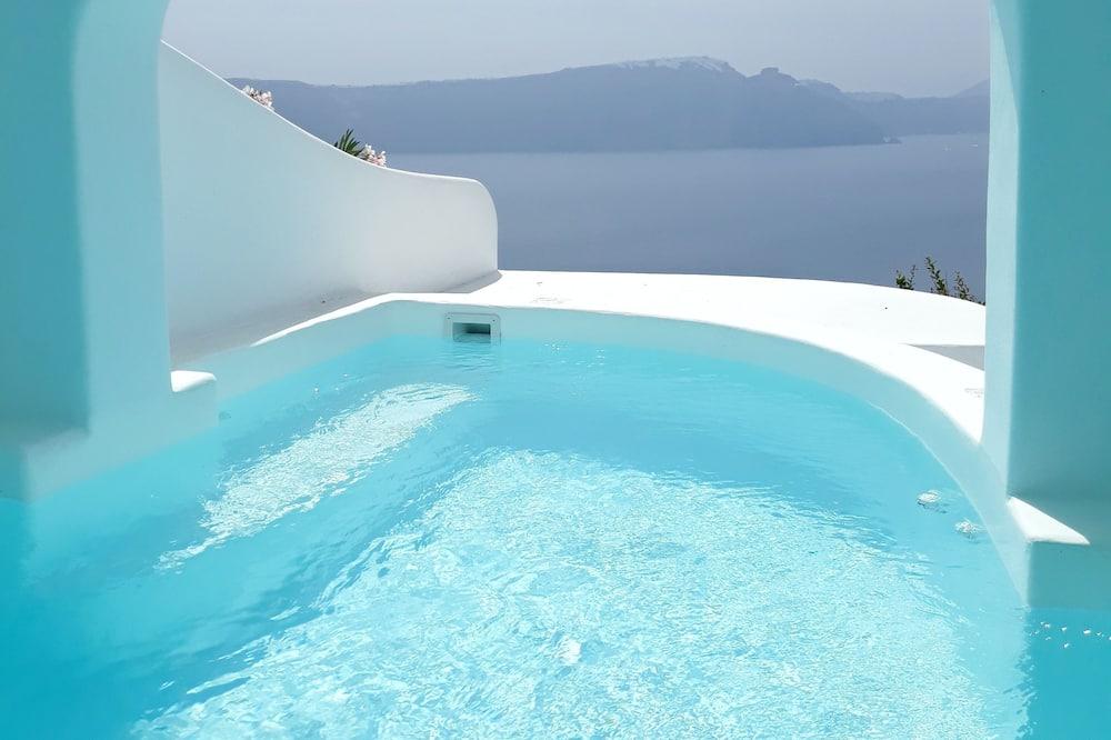 Honeymoon Suite, Plunge Pool, Caldera View - Vista desde la habitación