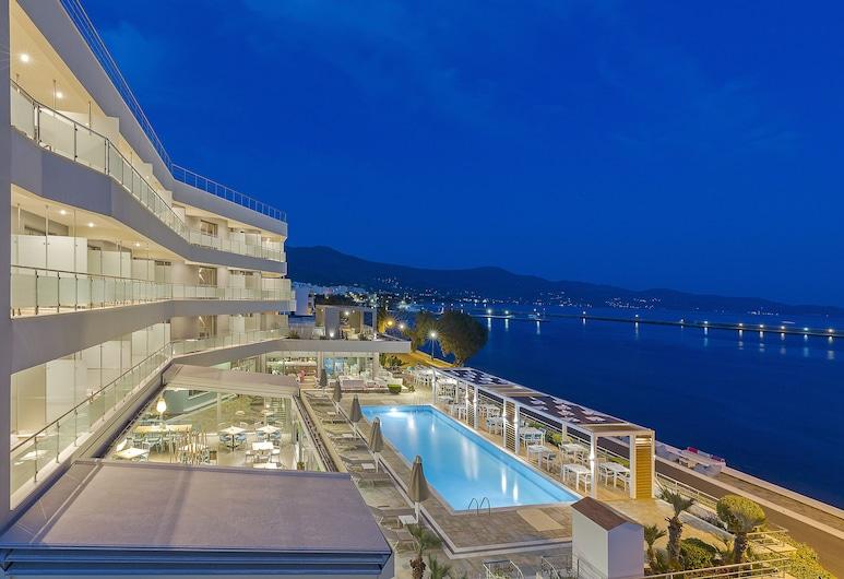 Anastasia Hotel & Suites Mediterranean Comfort, Karistos, Terasa/trijem