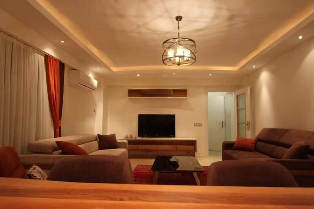 Villa - 4 soveværelser - Opholdsområde