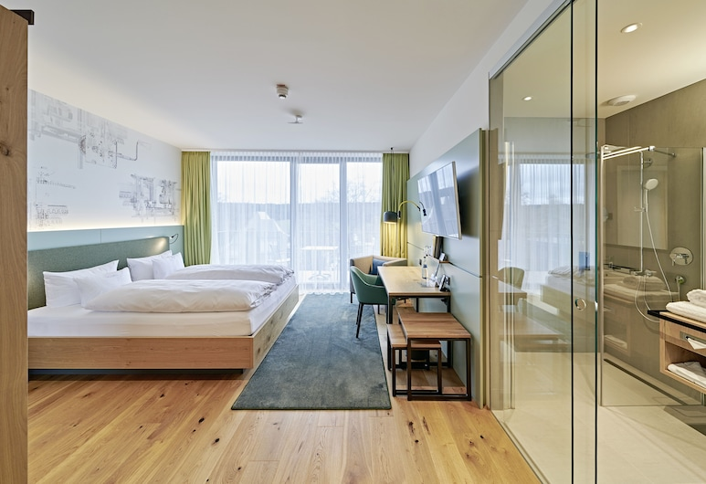 菲德爾威爾克酒店, 聖格奧爾根伊姆斯希瓦爾茨瓦爾德, 標準雙人或雙床房, 客房