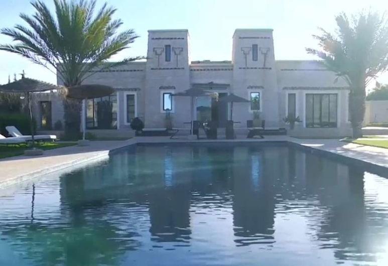 Kasbah Mamouna, Ounagha, Krytý bazén