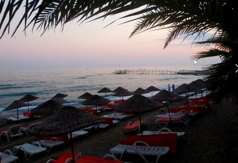 Holiday Line Hotel - All Inclusive, Alanya, Bãi biển