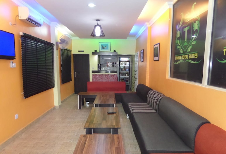 Thoak Royal Suite, Lagosas, Viešbučio baras