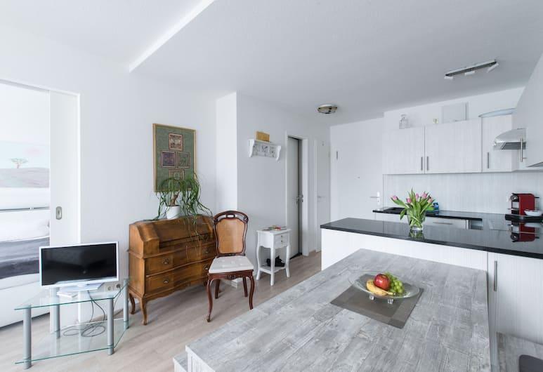 Deluxe Apartment White Cocoon, Berlin, Lägenhet Deluxe - 1 sovrum, Eget kök