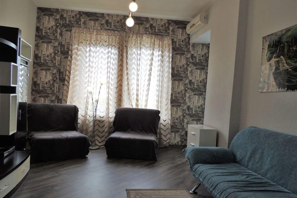 Apartment, 3Schlafzimmer (Andreevskiy spusk, 11) - Wohnbereich