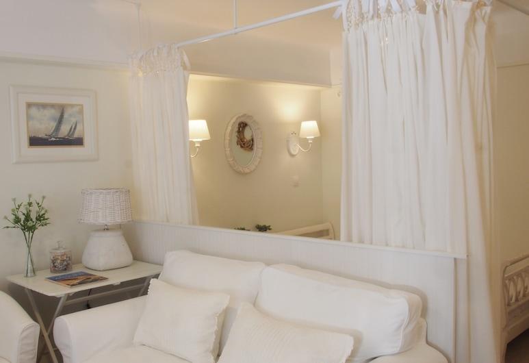 Athens Koukaki Boutique Apartments, Atenas, Jasmine Apartment, Quarto