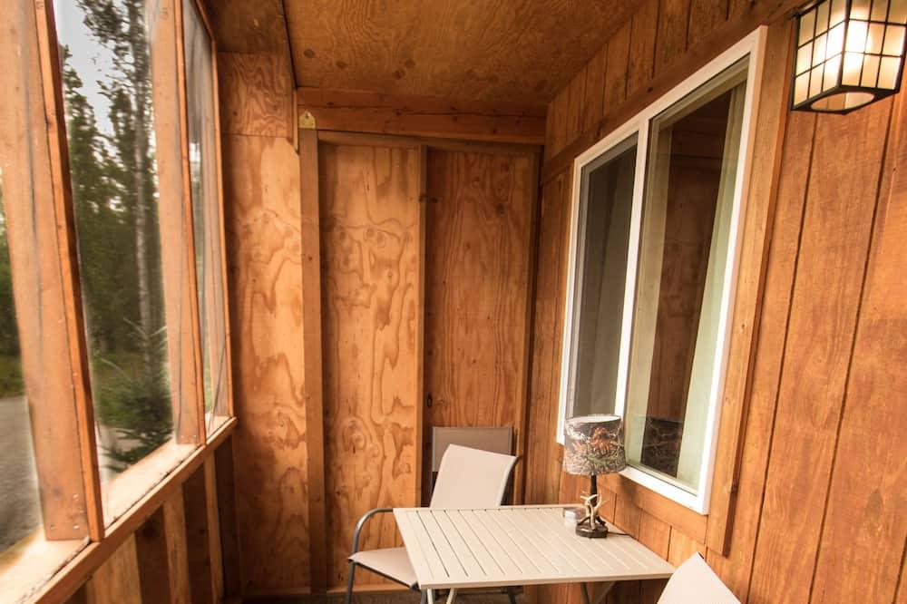 Chatka typu Economy, nefajčiarska izba, súkromná kúpeľňa - Balkón