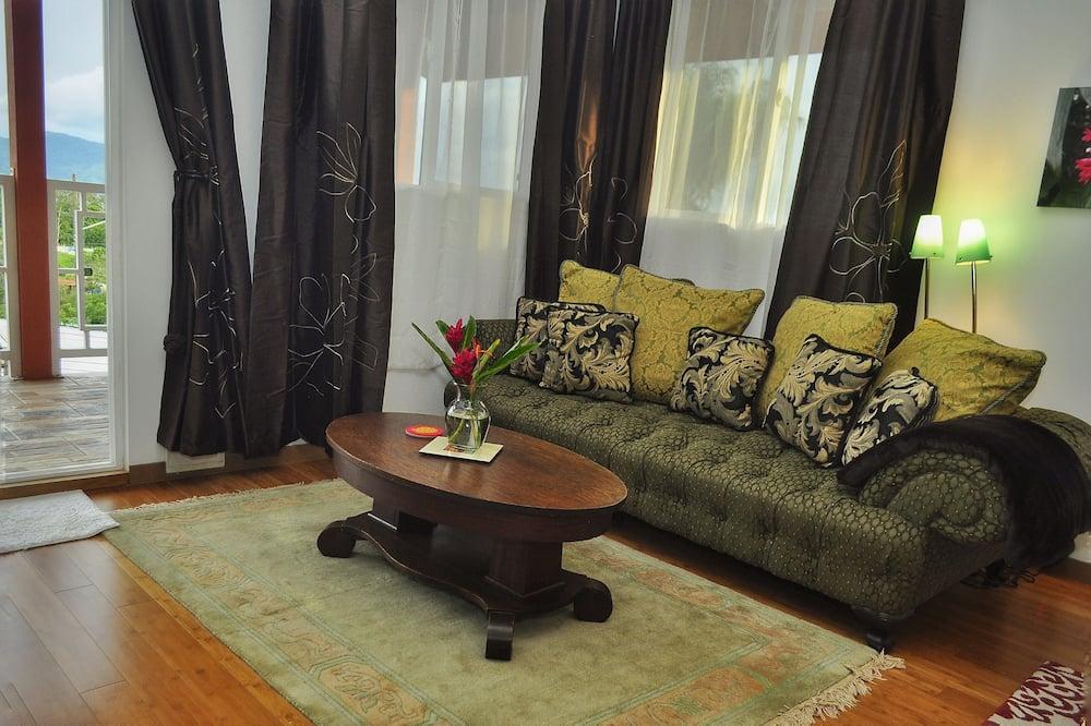 Suite de lujo, 1 cama de matrimonio grande - Zona de estar