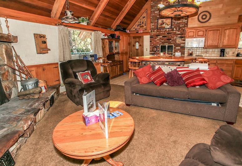 Cornerstone Cabin, Danau Big Bear , Rumah, Beberapa Tempat Tidur, non-smoking, Ruang Keluarga
