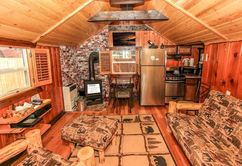舒適 2 人小屋酒店, 大熊湖, 單棟房屋, 1 張加大雙人床, 非吸煙房, 客房