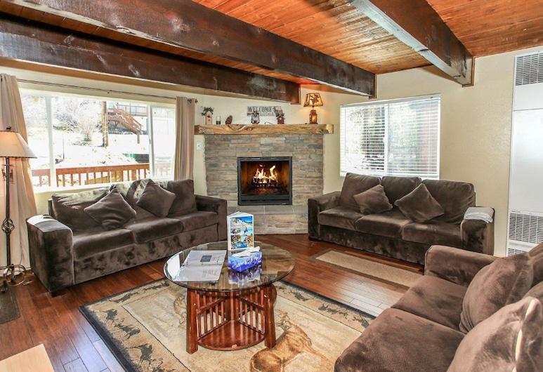 小熊之家, 大熊湖, 單棟房屋, 多張床, 非吸煙房, 客廳