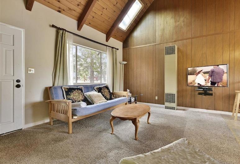 貝殼小屋, 大熊湖, 單棟房屋, 多張床, 非吸煙房, 客廳