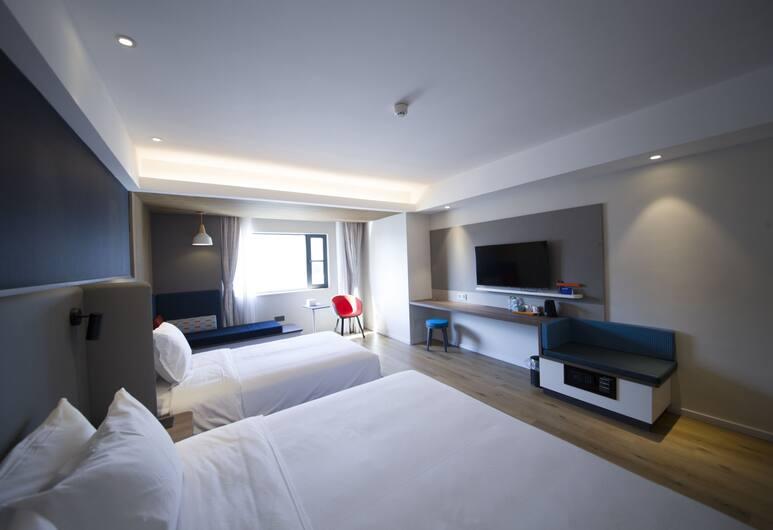 Holiday Inn Express Sanya Bay, Sanya, Kamar Keluarga, Beberapa Tempat Tidur, Kamar Tamu