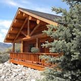 Premium-Ferienhütte, 2Schlafzimmer, Bergblick, Erdgeschoss - Zimmer