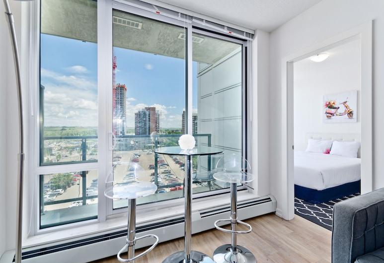 Suite Digs N3, Calgary, Apartamento Clássico em Condomínio Fechado, 2 Quartos, Quarto