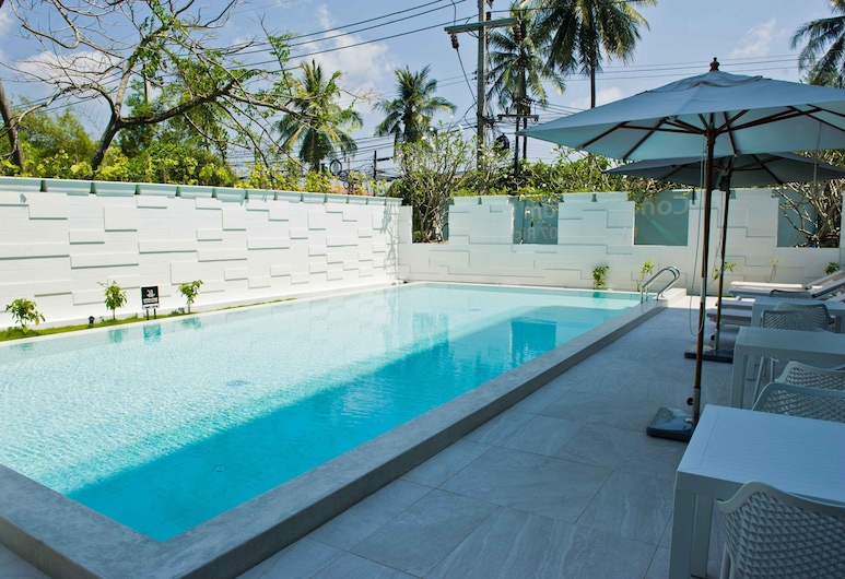 海石拉古納布吉酒店, Choeng Thale, 室外泳池