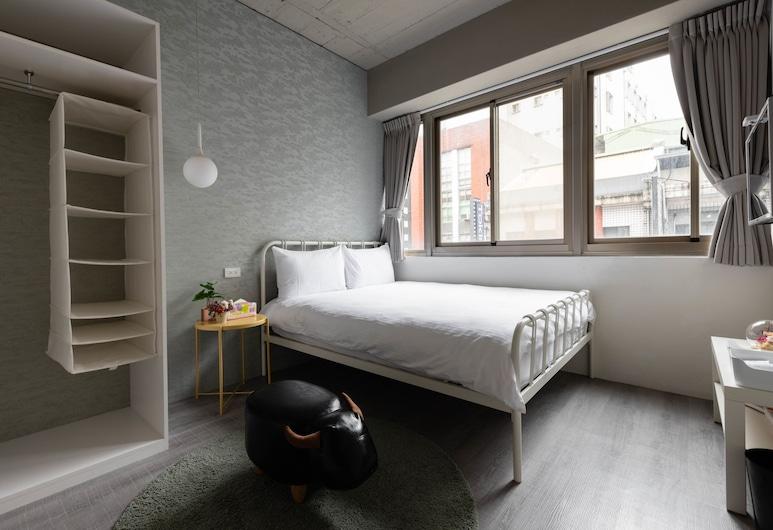 台北109青旅, 台北市, 陽光大窗景觀雙人套房, 獨立乾溼分離浴室 , 客房