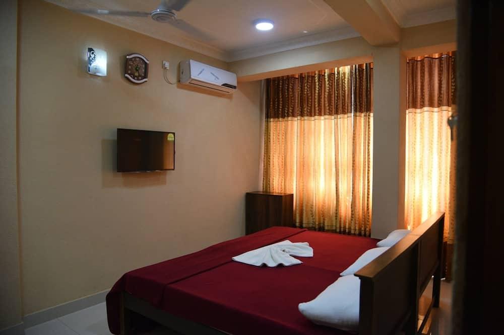 Dvojlôžková izba typu Deluxe, 1 veľké dvojlôžko - Obývačka