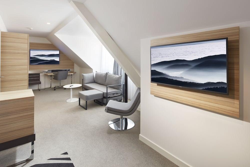 Apartmá typu Executive, dvojlůžko (180 cm) - Obývací prostor