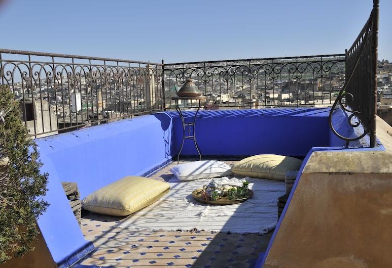 La Cheminée Bleue Fes, Fes, Terraço/pátio