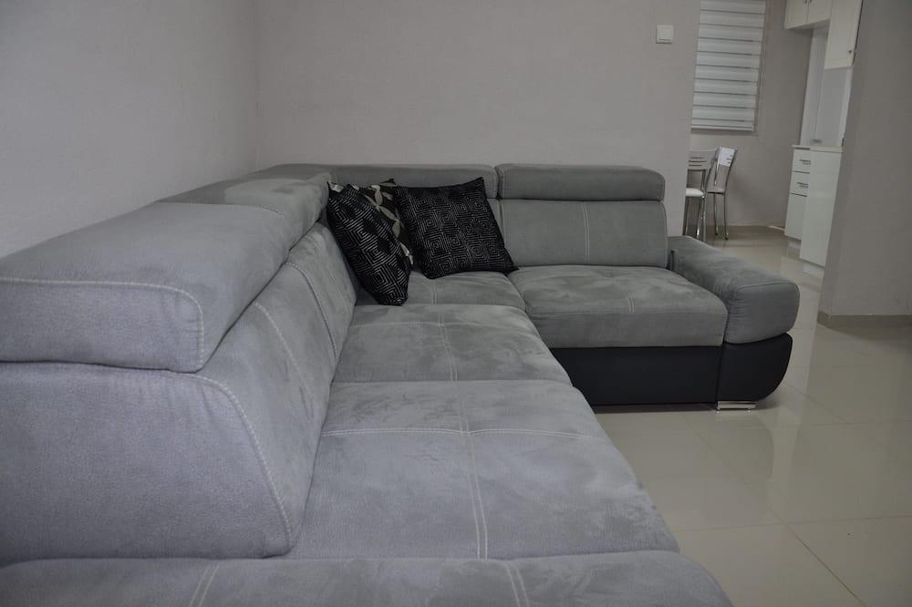Διαμέρισμα, Μη Καπνιστών, Θέα στην Παραλία - Καθιστικό