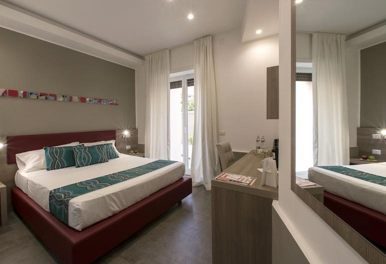 Regina Margherita Suite, Neapel, Luxury-Zimmer, 1 Queen-Bett, Terrasse (Segni Minimi), Zimmer