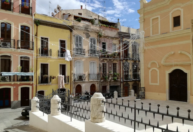 Wendy's Apartment, Cagliari, Courtyard