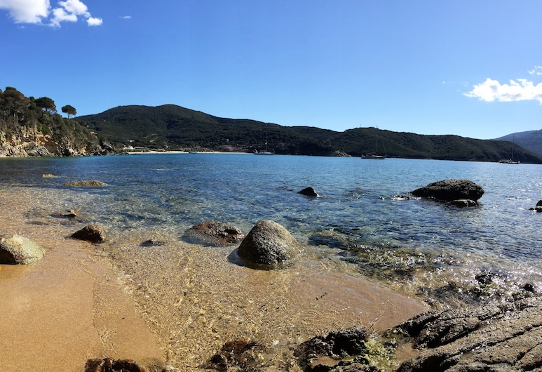 Scaglieri Mare, Portoferraio, Pláž