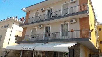 在里米尼的阿尔贝塔别墅酒店照片