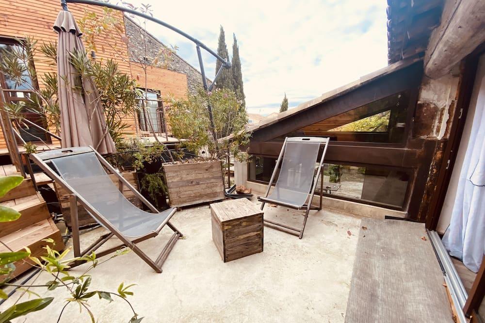 Triple Room, Private Bathroom, Garden View (B&B3 ) - Pemandangan Balkoni