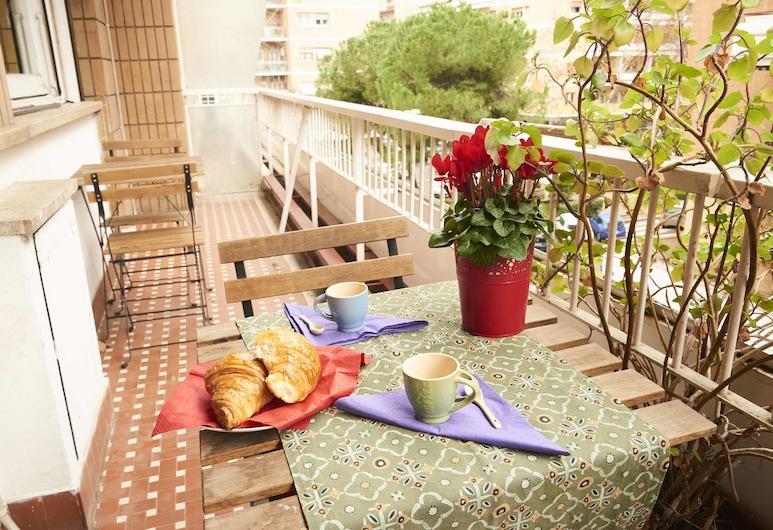 True Colors Apartments Sivori, Rome, Apartment, 3 Bedrooms, Balcony