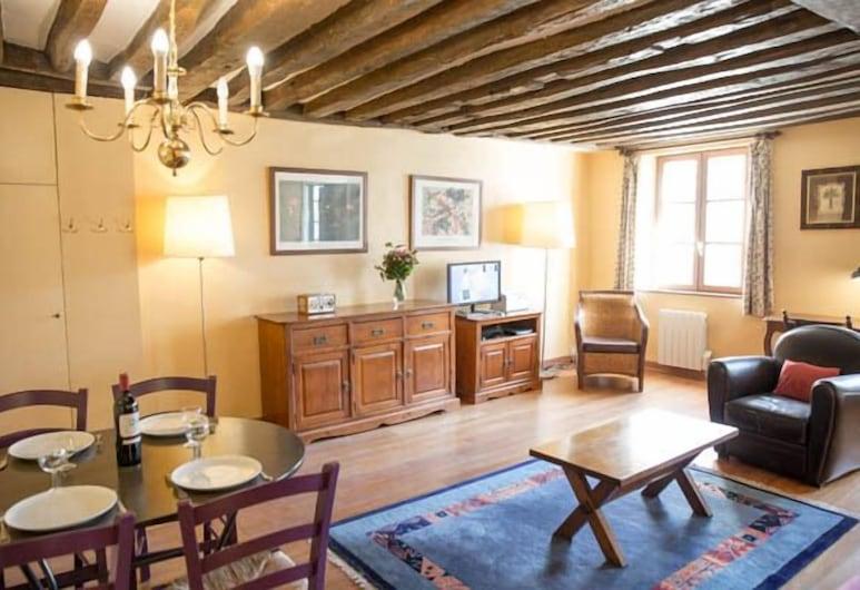 Appartement 1 chambre, Paryż, Apartament typu Classic, 1 sypialnia, Powierzchnia mieszkalna