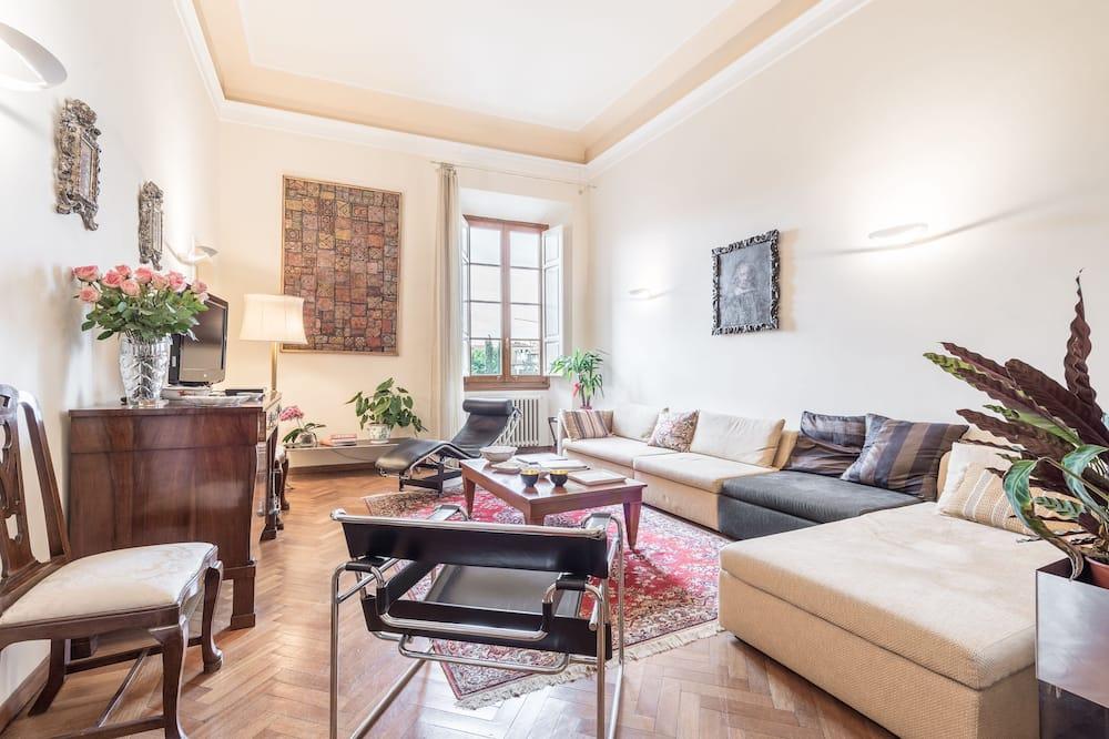 舒適公寓客房, 4 間臥室 - 客廳