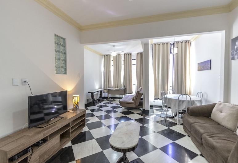 LineRio Copacabana Family Residence 203, Rio de Janeiro, Apartmán, Obývacie priestory