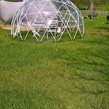 Panorāmas telts, divas guļamistabas - Numura ēdamzona