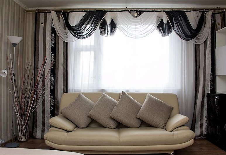 Apartlux on Bolshaya Gruzinskaya, Moscow, Apartment, 2 Bedrooms, Living Room