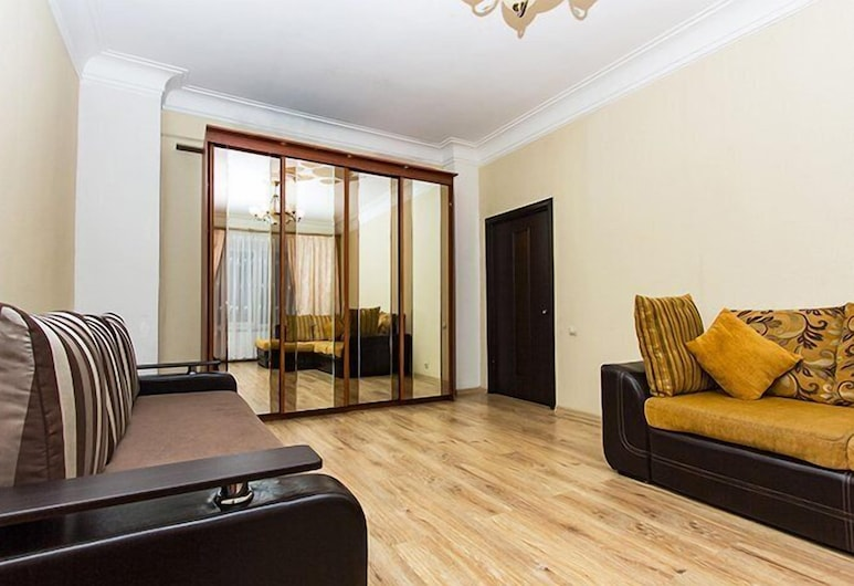 ApartLux Serpukhovskaya, Moscow, Apartment, 1 Bedroom, Living Room