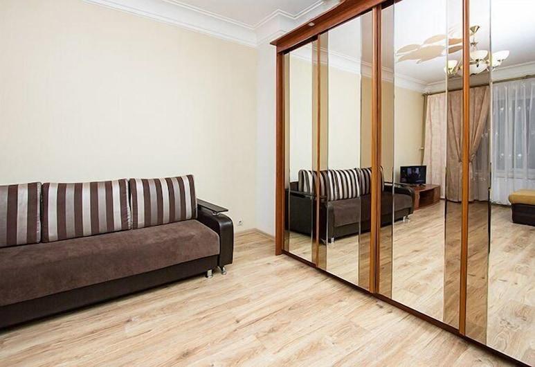 ApartLux Serpukhovskaya, Moscow, Apartment, 1 Bedroom, Living Room