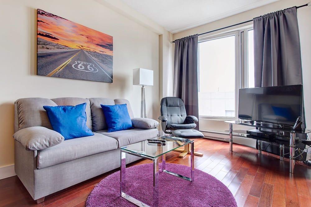 דירת סופריור, חדר שינה אחד - סלון