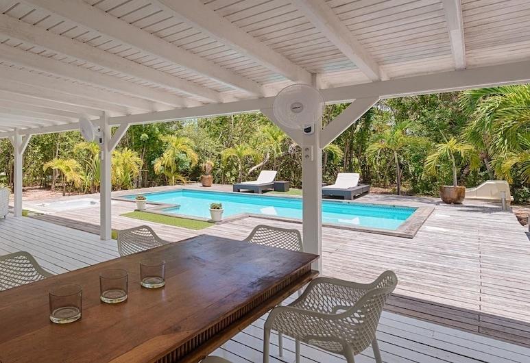 Seashell, Les Terres Basses, Terrace/Patio
