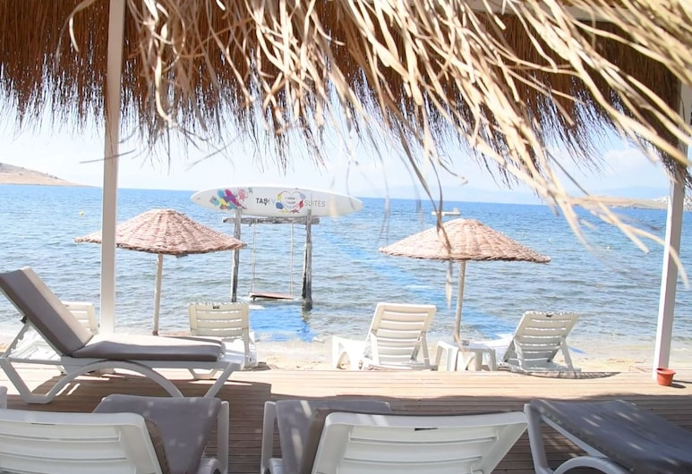 Tasev Apart Hotel, Bodrum, Playa