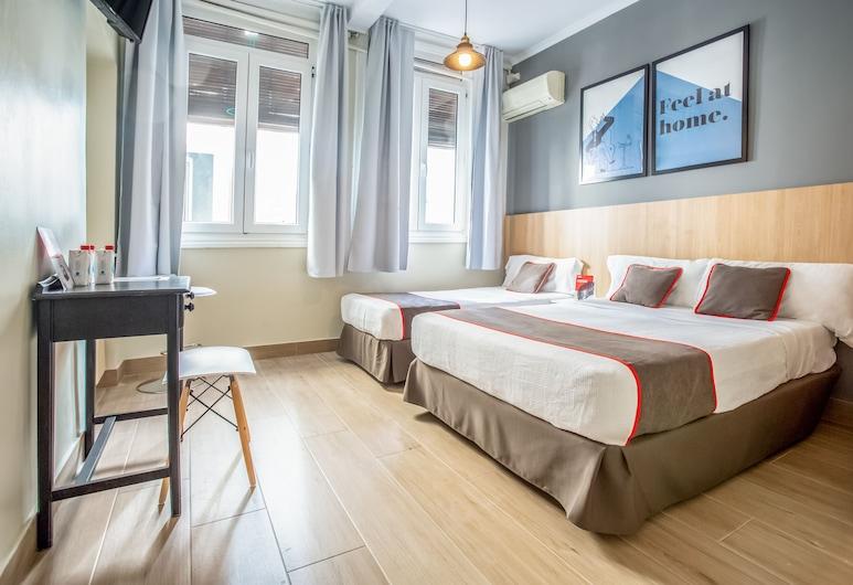 Las Murallas, Madrid, Habitación doble (Extra Bed & Private Exterior Bathroom), Habitación