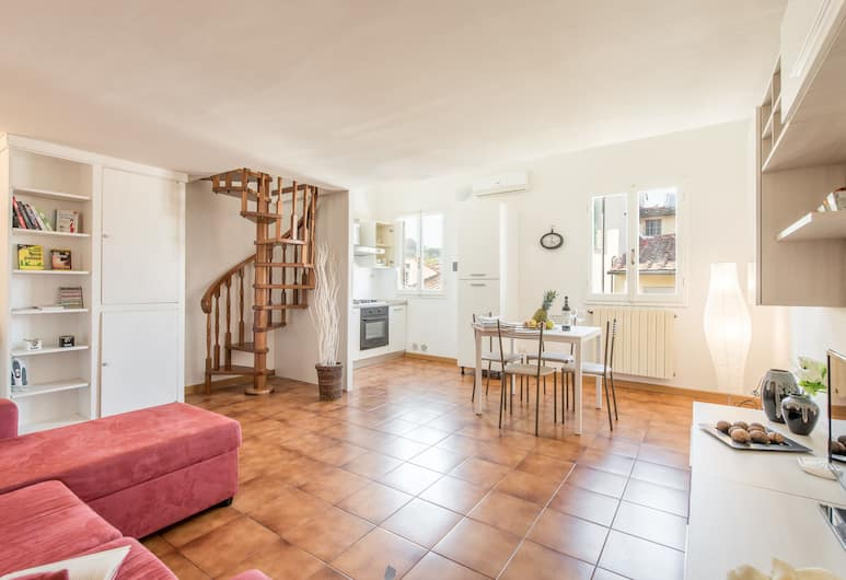San Frediano 17, Florence, Appartement Confort, 1 chambre, Coin séjour