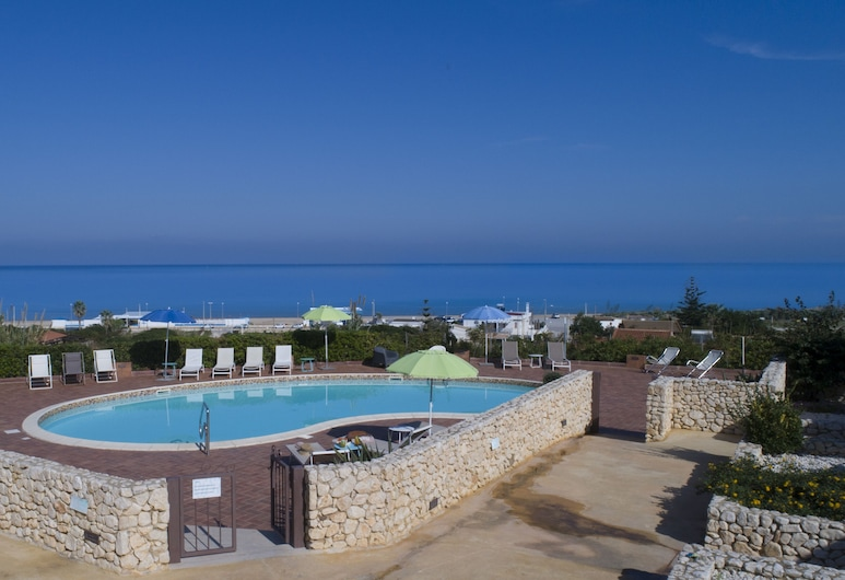 Riva Sea Apartments, Castellammare del Golfo, Vonkajší bazén