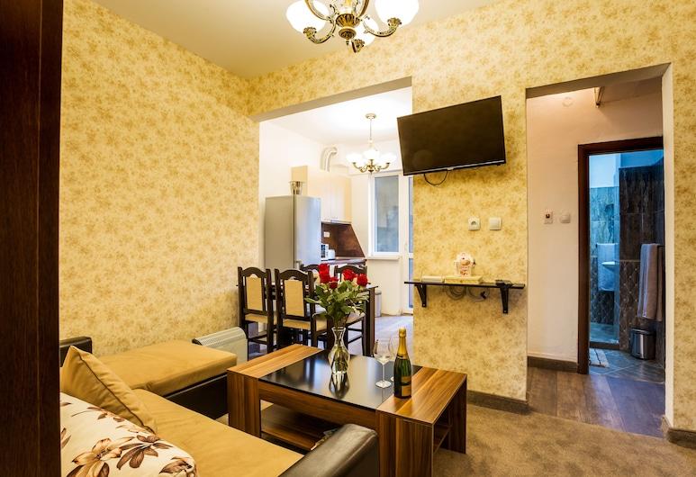 豪華索菲亞套房酒店, 索菲亞, 奢華公寓, 2 間臥室, 客廳