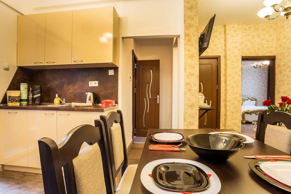 Розкішні апартаменти, 2 спальні - Обіди в номері