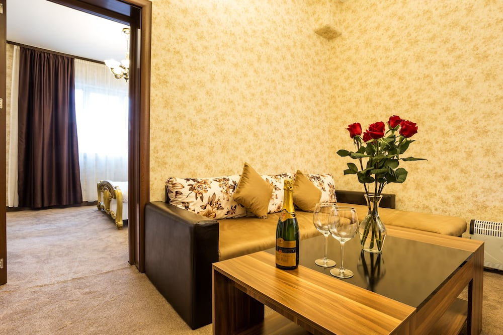 Розкішні апартаменти, 2 спальні - Вітальня