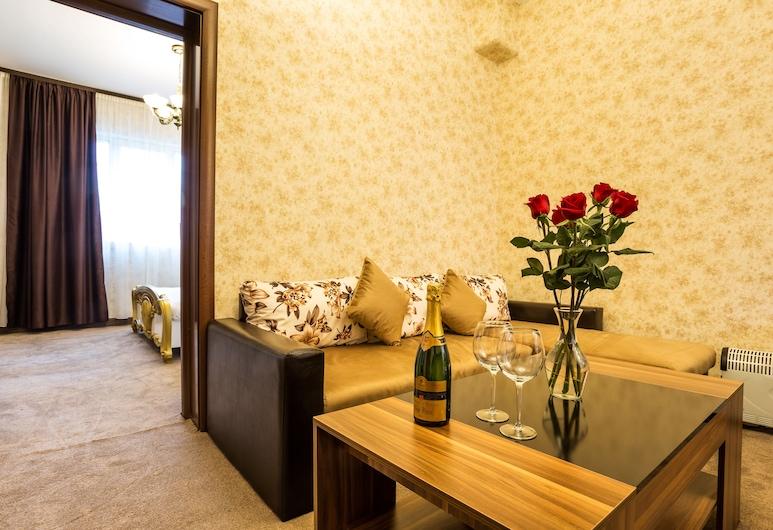 Deluxe Suite Sofia, Sofija, Prabangaus stiliaus apartamentai, 2 miegamieji, Svetainė