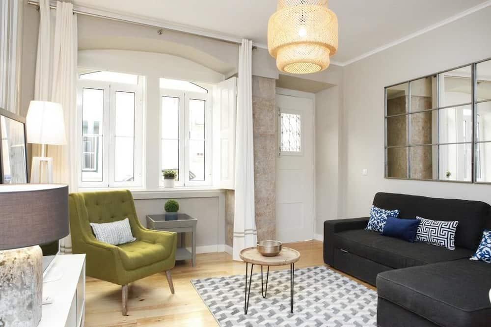 Deluxe Apartment, 1 Bedroom - Living Area
