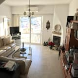 House, 3 Bedrooms, Terrace, Sea View - Living Room